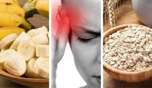 9 matvarer som bekjemper tretthet og hodepine