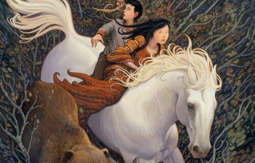 par på hest