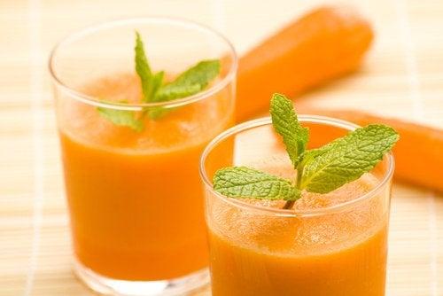 8 ukjente fordeler med gulrotjuice