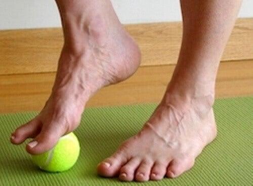 strekke-foten