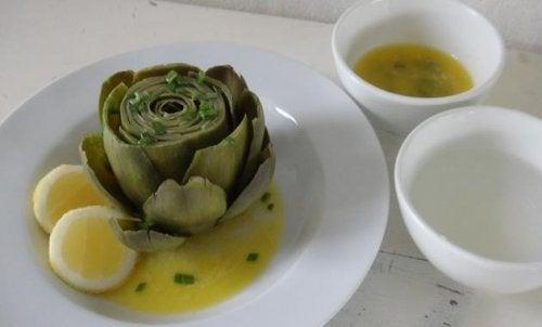 artisjokk-sitron-matvarer