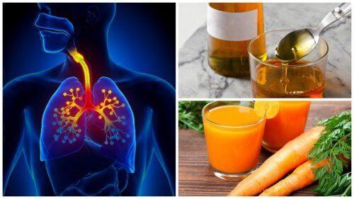 Naturlig hostesaft med gulrot