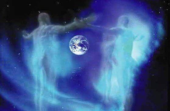 Guder passer på jorden