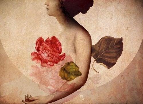 3-kvinne-og-en-rose
