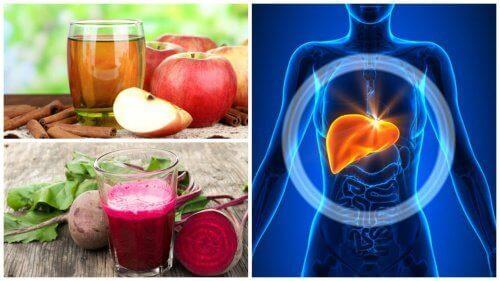 5 hjemmelagde drikker som renser leveren din