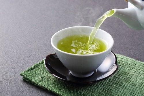 Grønn te gir bedre mental helse