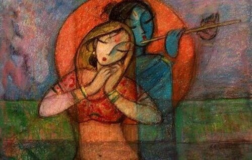 Hinduistisk par