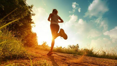 Løping hjelper deg å bekjempe negative følelser