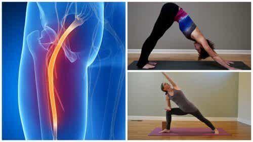 Yogaøvelser mot smerter i isjiasnerven