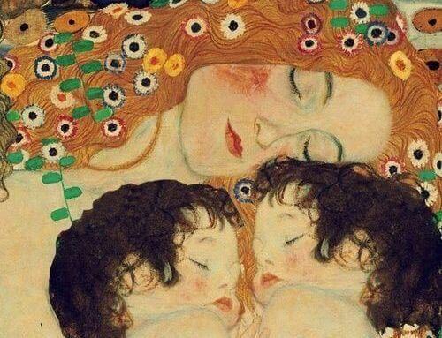 Kyss og klemmer, den beste medisinen for dine barn