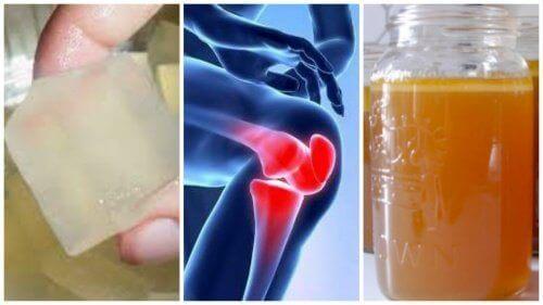 Oppdag 3 remedier med gelatin for å lindre leddsmerter