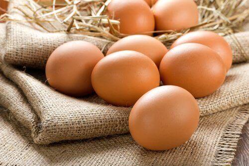 egg med skall