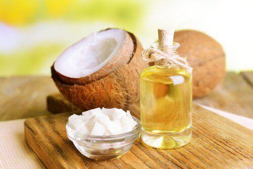 kokosolje renser ørene