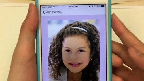 12 år gammel jente lager en app for å kunne kommunisere med sin Alzheimer-syke bestemor