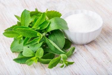 Middel med kanel og stevia for å regulere blodsukkeret