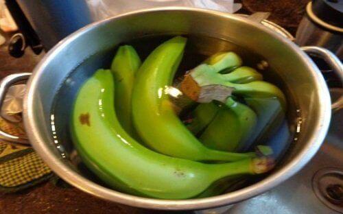 Bananer i vann