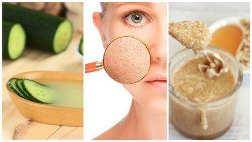 Du kan krympe porene dine med disse 5 naturlige behandlingene