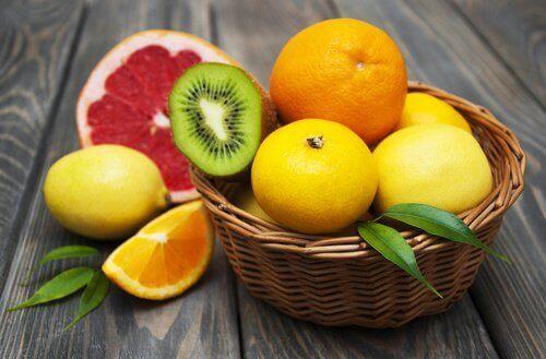 Sitrusfrukter