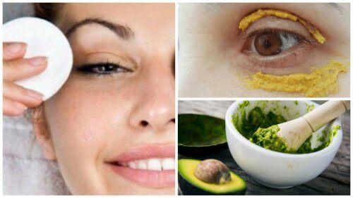 6 naturlige skjønnhetstips mot mørke ringer under øynene