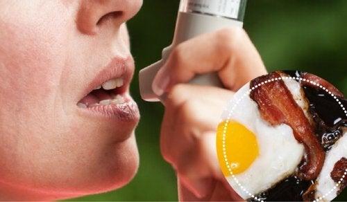 9 matvarer de som har astma bør unngå