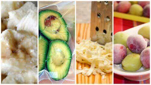 9 overraskende matvarer som kan fryses