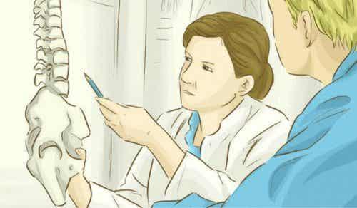 Ryggraden: Hvordan holde den sunn med noen enkle trinn