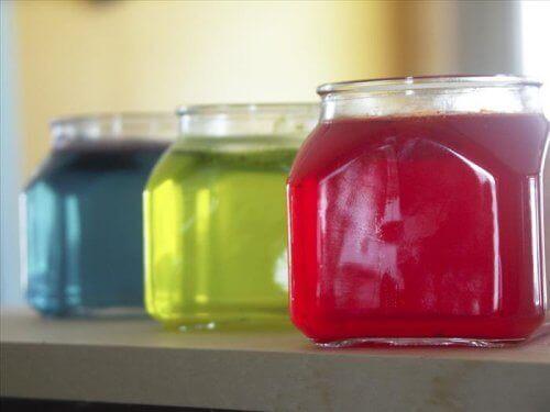 Miljøvennlig luftfrisker laget av gelatin