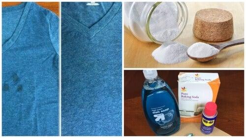 Tenker du på å kaste klær med fettflekker? Prøv disse triksene!