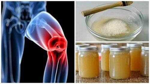 Lær hvordan du lager behandlinger med gelatin for å berolige leddsmerter