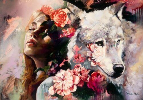 jente og ulv