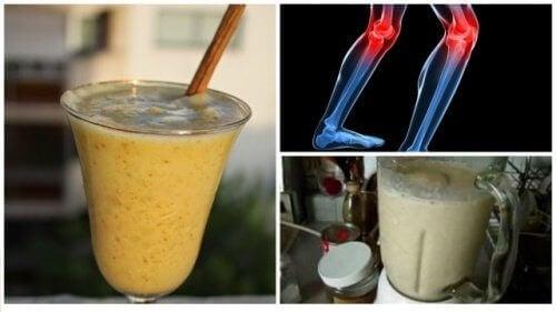 5 helbredende juicer for å lindre smerter av leddgikt