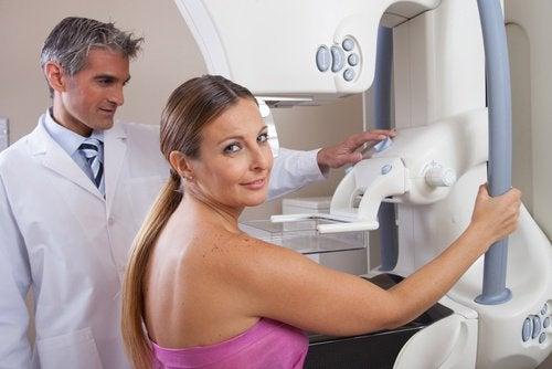 din første mammografi