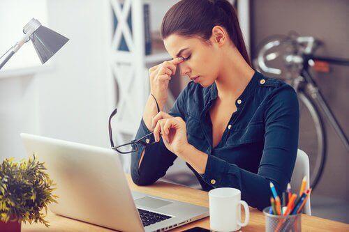 Synsproblemer kan være tegn på hjerneslag