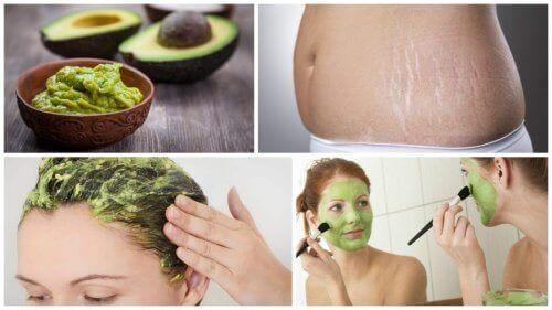 6 kosmetiske fordeler med avokado