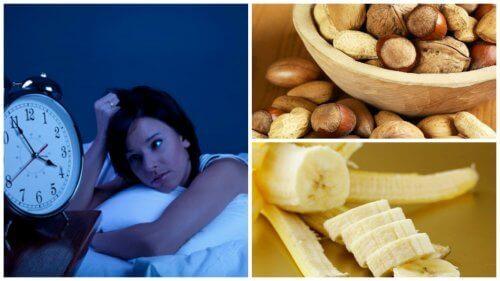8 matvarer som bekjemper søvnløshet