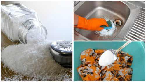 Miljøvennlige rengjøringstriks med salt
