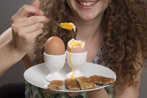 Kokte egg