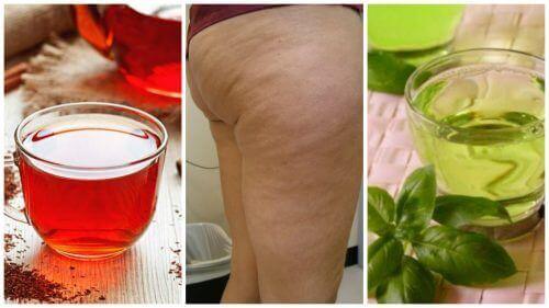 Bekjemp cellulitter med disse 6 urtedrikkene