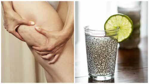 Medisinsk linfrødrikke for å bekjempe cellulitter og forbedre hudhelsen