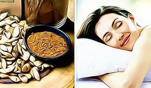 Finn ut hvordan gresskarfrø kan hjelpe deg med å sove bedre