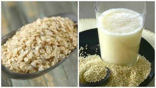 Lær hvordan du lager quinoamelk og finn ut hvilke fordeler det har