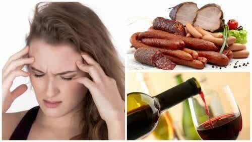 9 matvarer og drikker som kan forårsake migrene