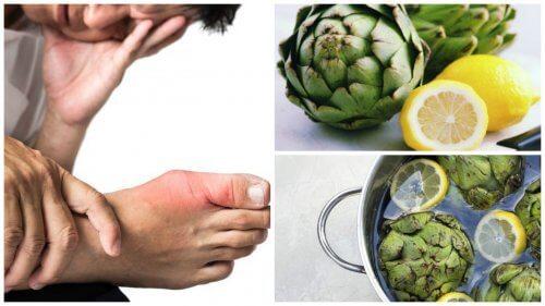 Bli kvitt urinsyre med artisjokk- og sitronvann
