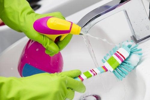 effektiv rengjøring av kraner