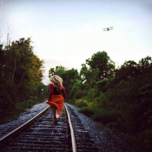 En av de mest modige tingene du kan gjøre er å la gå