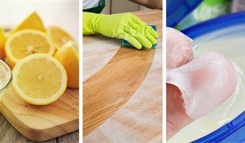 8 enkle hjemmelagde rengjøringsmidler for tre