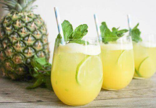 Ananasvann - seks fantastiske fordeler
