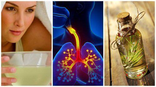Kontroller symptomer på bronkitt med disse 6 hjemmebehandlingene