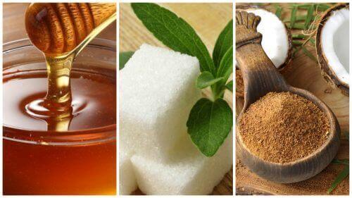 5 erstatninger for sukker som du helt sikkert ønsker å vite om