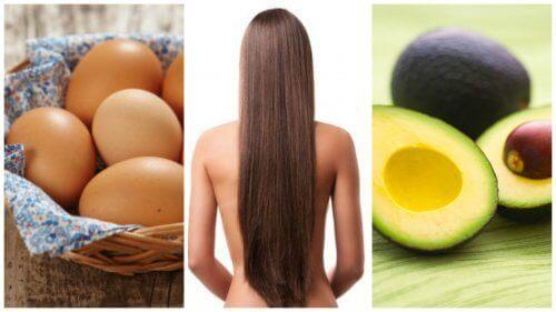 Fremskynd hårveksten din med disse 8 matvarene